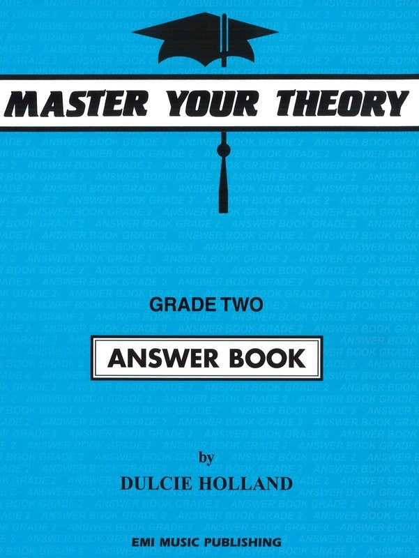 Master Your Theory Answer Book - Grade Two