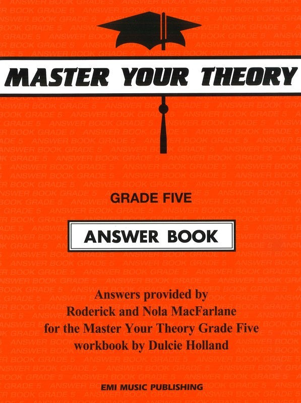 Master Your Theory Answer Book - Grade Five
