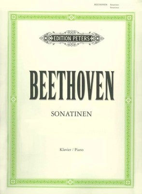 Beethoven : Six Sonatinas : Edition Peters