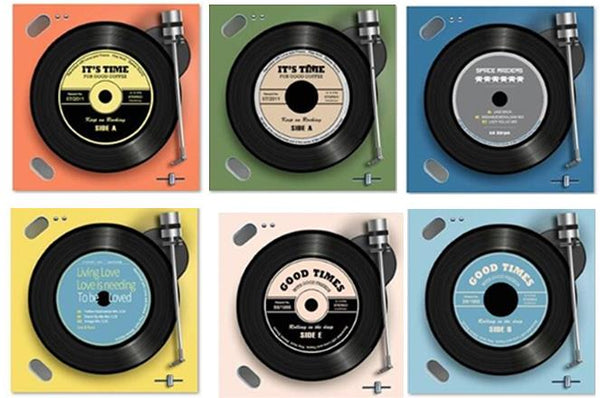 "Coasters ""Good Times"" Record Player"