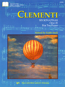 Clementi : Six Sonatinas Op.36