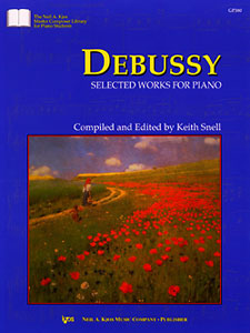 Debussy : Selected Works For Piano