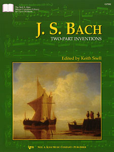 JS Bach : Two Part Inventions