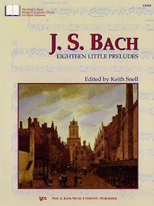 JS Bach : Eighteen Little Preludes