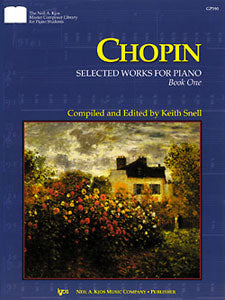 Chopin : Selected Works For Piano Book 1
