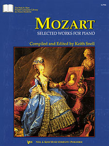 Mozart : Selected Works For Piano