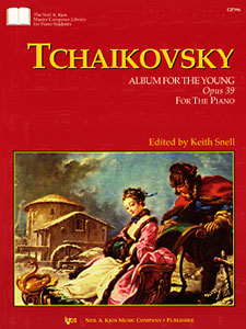 Tchaikovsky : Album For The Young Op.39