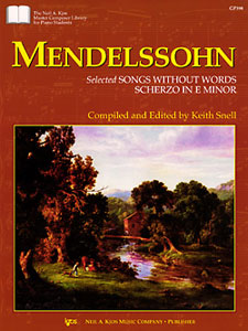 Mendelssohn : Selected Songs Without Words