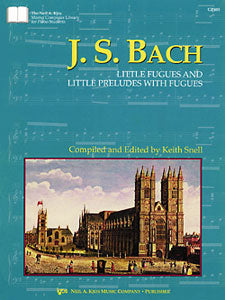 JS Bach : Little Fugues & Little Preludes With Fugues