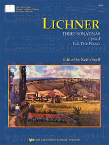 Lichner : Three Sonatinas Op.4
