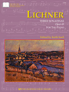 Lichner : Three Sonatinas Op.49