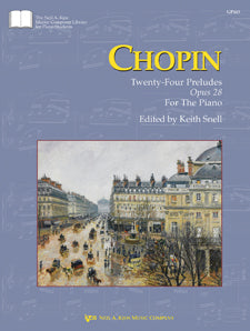 Chopin : Twenty Four Preludes Op.28