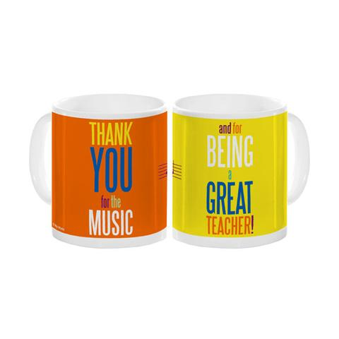 Mug Thank you for the music and for being a great teacher!