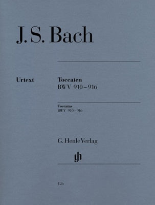 JS Bach : Toccatas BWV 910-916 : Henle Edition