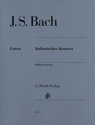 JS Bach : Italian Concerto BWV 971 : Henle Edition