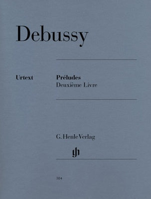 Debussy : Preludes Book 2 : Henle Edition