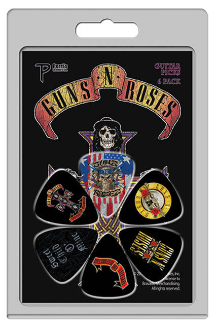 Guitar Picks - Guns & Roses - 6 Pack