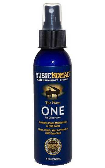 "One Piano Cleaner, Polish & Wax -120ml ""Piano One"" for Gloss Finishes"