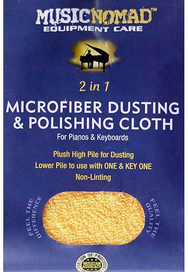 "Microfiber Dusting & Polishing Cloth Size: 12"" x 12"""