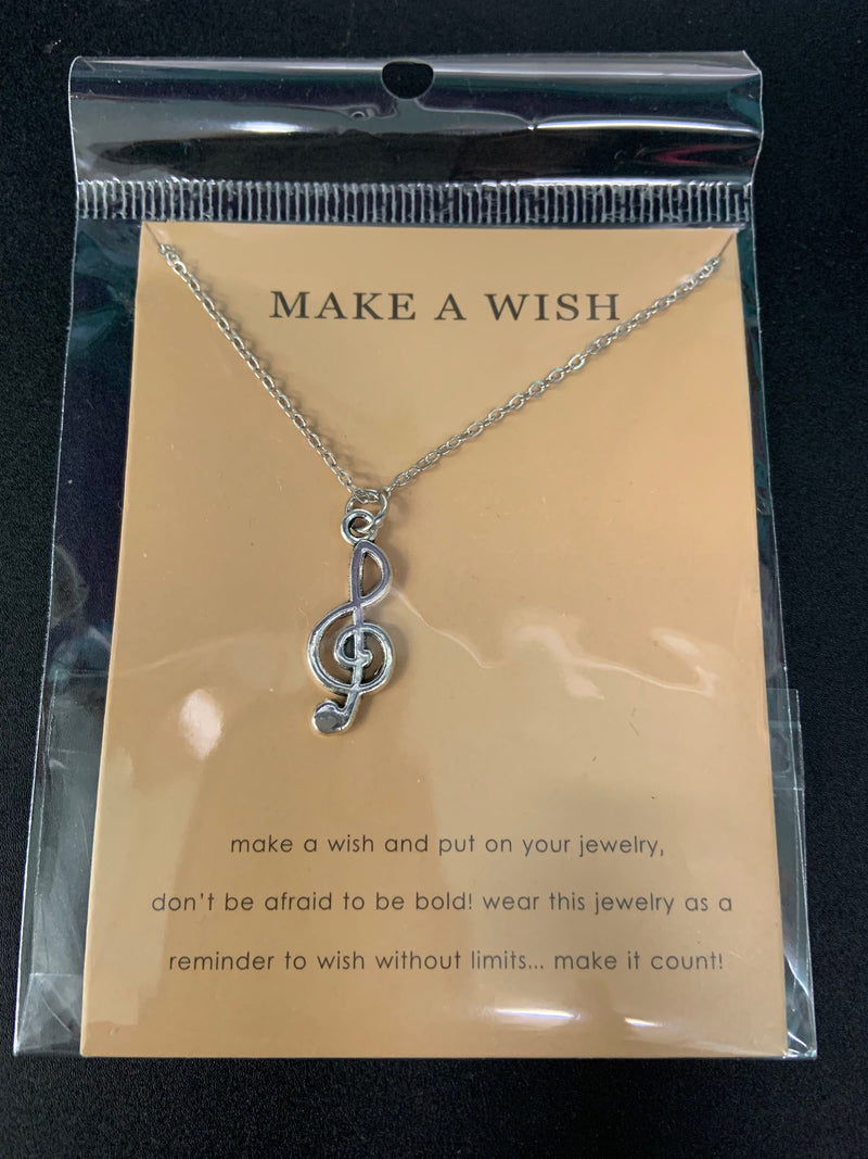Make A Wish Treble Clef