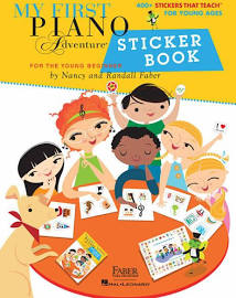 My First Piano Adventures Sticker Book
