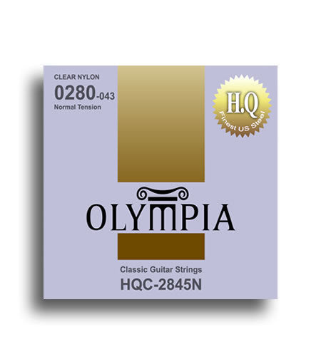Olympia HQ Series Classical Nylon/Silver Tie-End Guitar String Set
