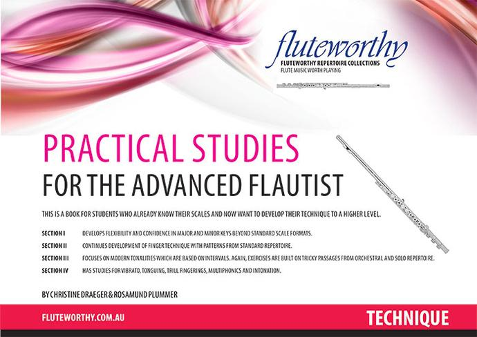 Fluteworthy - Practical Studies For The Advanced Flautist