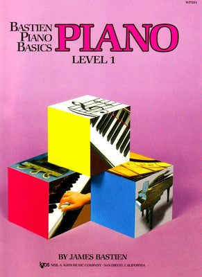 Bastien Piano Basics - Level 1