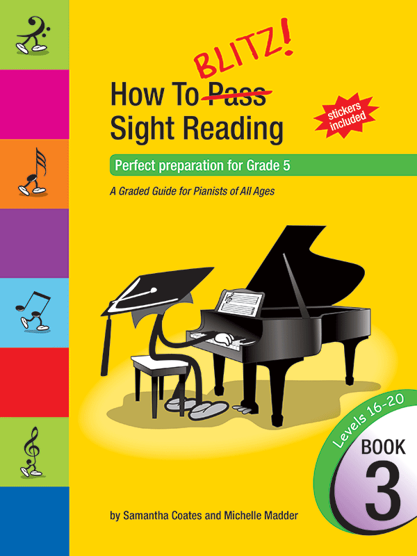 How To Blitz! Sight Reading Book 3 (Grade 5)