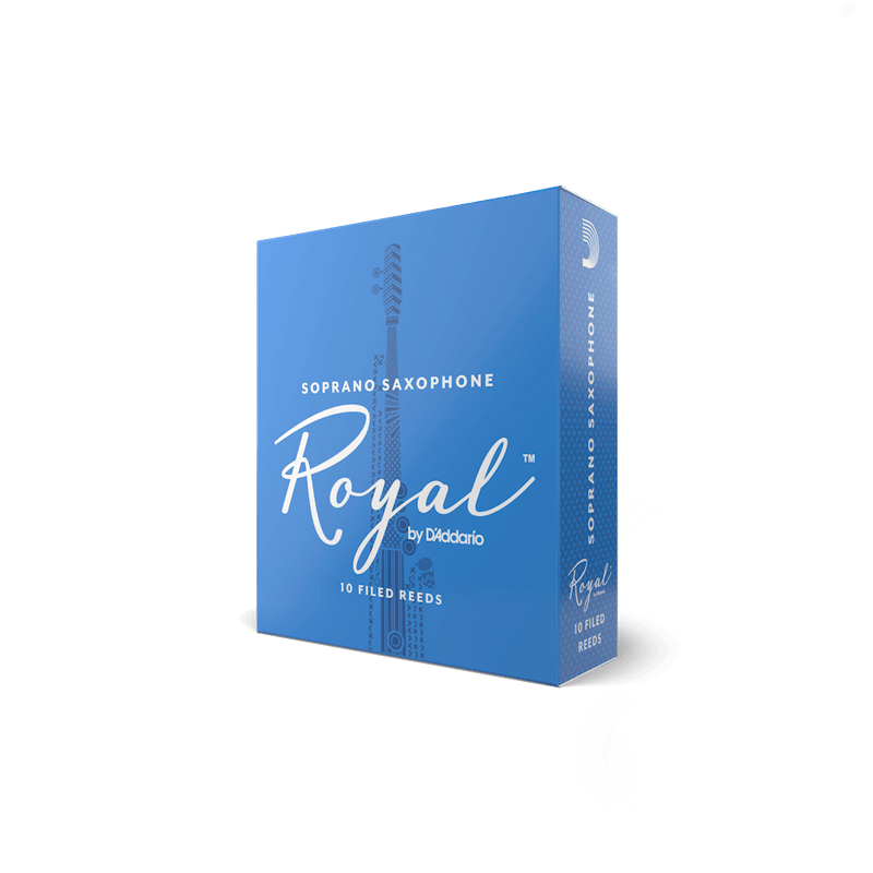 ROYAL BY D'ADDARIO SOPRANO SAXOPHONE REEDS ... CLICK FOR MORE OPTIONS