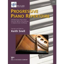 Progressive Piano Repertoire