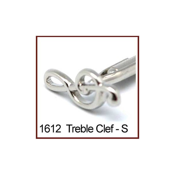 Cufflinks Treble Clef