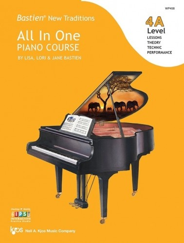 Bastien New Traditions - All In One Piano Course ... CLICK FOR MORE TITLES