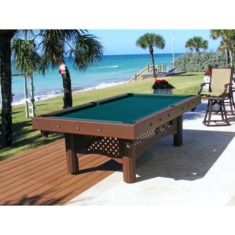 Image of Gameroom Concepts Tuscany 8ft Outdoor Pool Table