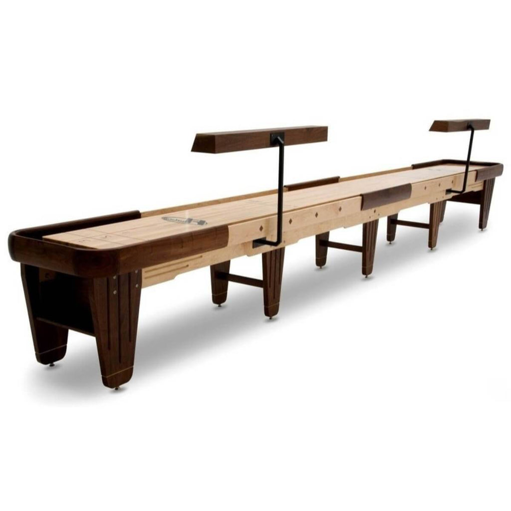 Hudson Dominator Shuffleboard Table 9'-22' with Custom Wood and Stain Options