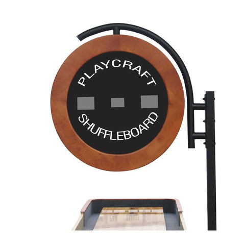 Image of Playcraft Telluride Pro Style Shuffleboard Table 9'-22' with Electronic Scorer