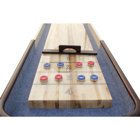 Image of Berner Billiards The Retro Premium Shuffleboard Table