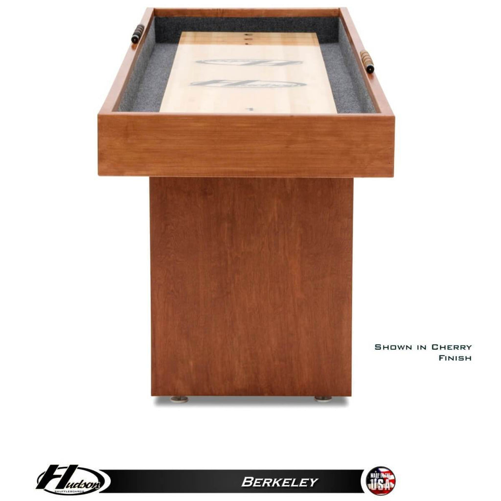 Hudson Berkeley Shuffleboard Table 9'-22' with Custom Stains