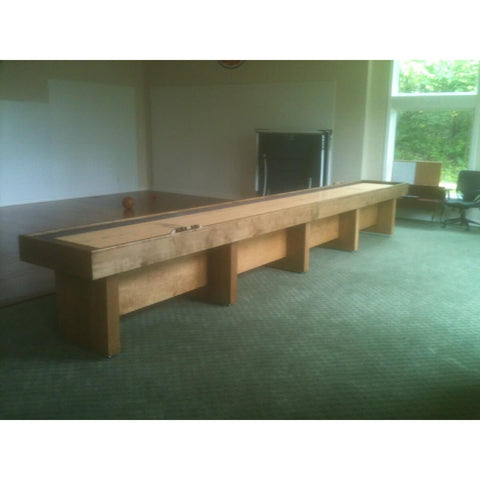 Image of Hudson Berkeley Shuffleboard Table 9'-22' with Custom Stains