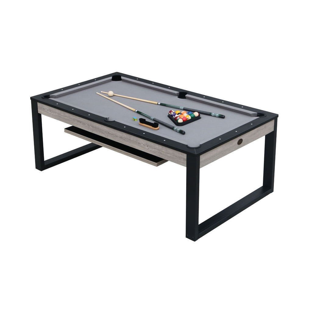 Playcraft Cascades 7' Pool Table with Dining Top