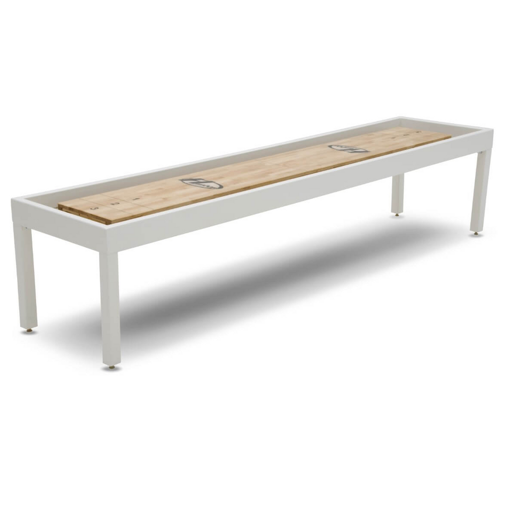 Hudson Metro Shuffleboard Table 9'-22' with Custom Finish Options