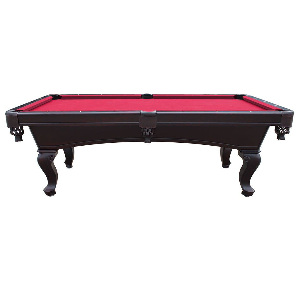 Hathaway Monterey Mahogany 8ft Slate Pool Table