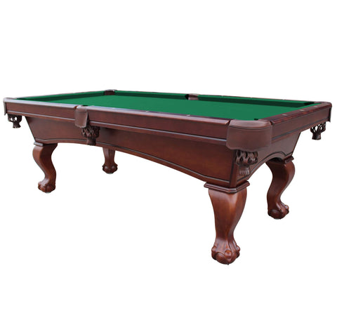 Image of Hathaway Westport Antique Walnut 8ft Slate Pool Table