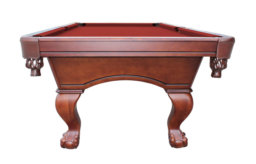 Hathaway Westport Antique Walnut 8ft Slate Pool Table