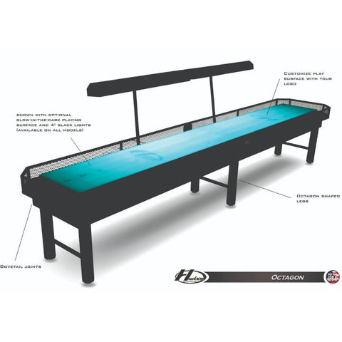 Image of Hudson Octagon Shuffleboard Table 9'-22'
