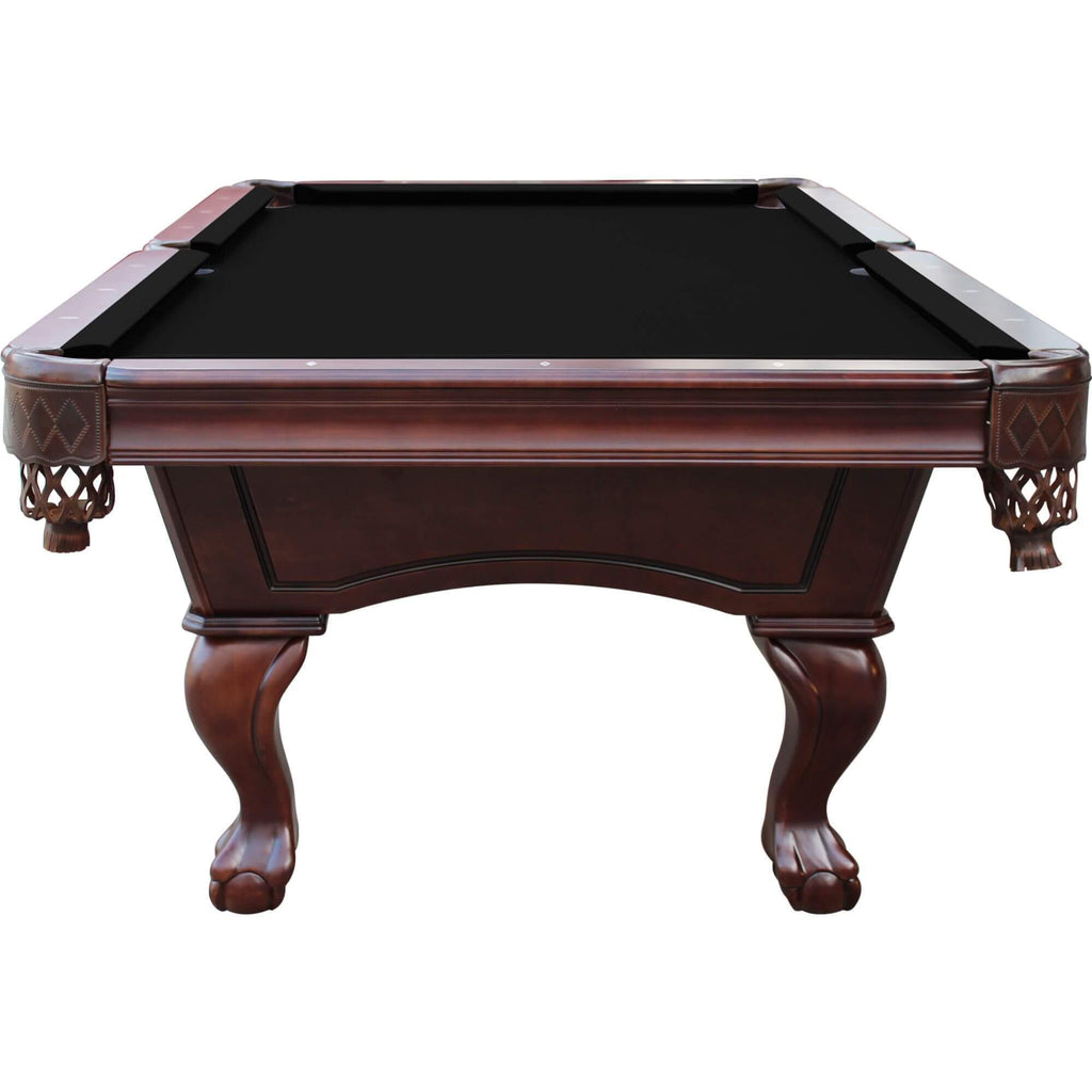 Playcraft Charles River 8' Slate Pool Table with Leather Drop Pockets