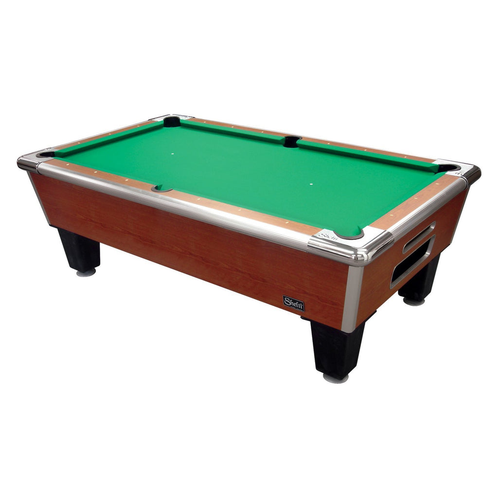 "Shelti Bayside Cherry 101"" Slate Pool Table"