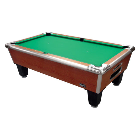 "Image of Shelti Bayside Cherry 88"" Slate Pool Table"