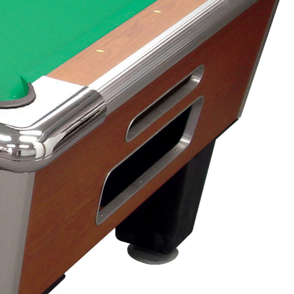 "Shelti Bayside Cherry 88"" Slate Pool Table"