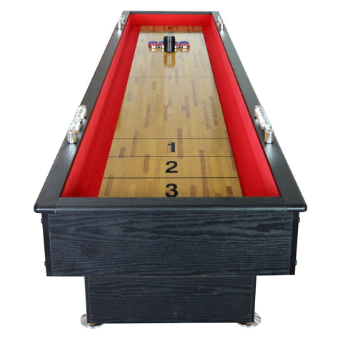 Hathaway Avenger 9ft Shuffleboard Table with Accessories
